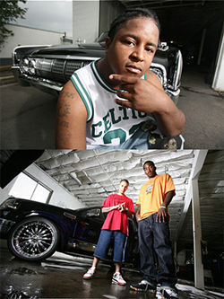 Stacy Mariney (above) learned the custom-car business from Vett Capone, whose clients include Denver Nugget J.R. Smith.