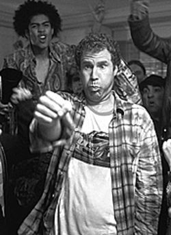 Schoolboy in disgrace: Will Ferrell gets goofy in  Old School.