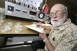 More power to you: DU chemist Donald Stedman believes Orr's formula might have environmental benefits — if it could have been properly tested.