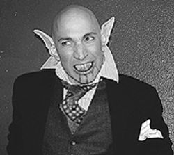 Nicholas Sugar stars in Bat Boy: The Musical.