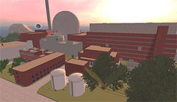 The reactor in Second Life