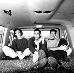 Go with Guster: Ryan Miller, Brian Rosenworcel and Adam Gardner.