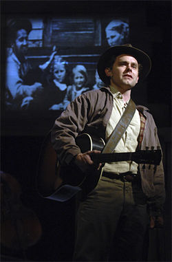Sam Misner as the young Woody.