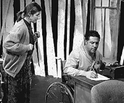 Emily Paton Davies and Thomas Borrillo in 