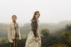 Solomon Glave and Shannon Beer star in Wuthering Heights.